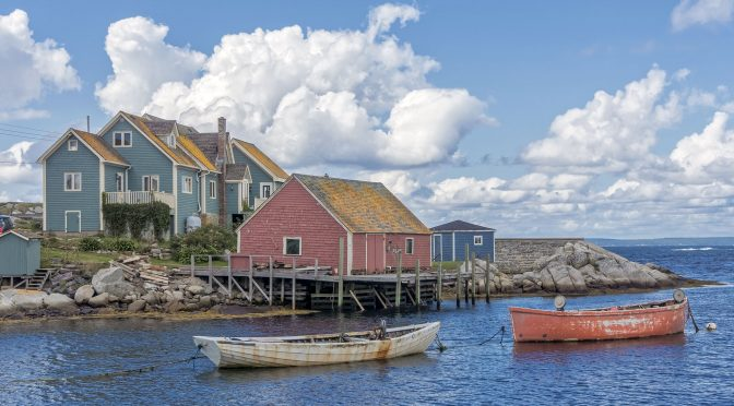 Colour and Character of Peggy's Cove