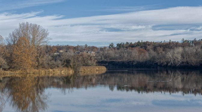 Late Fall River Scenes at Wilkes Dam