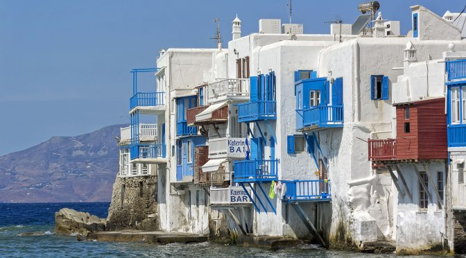 Meandering on Mykonos