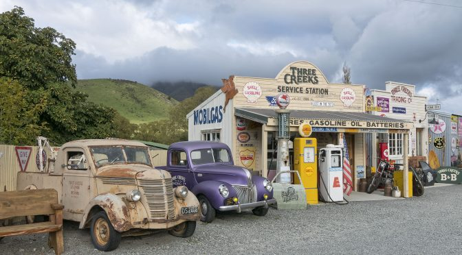 A Visit Back in Time at Burkes Pass