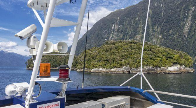 Journey to Doubtful Sound New Zealand
