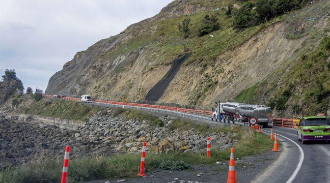 Construction En Route to Kaikoura